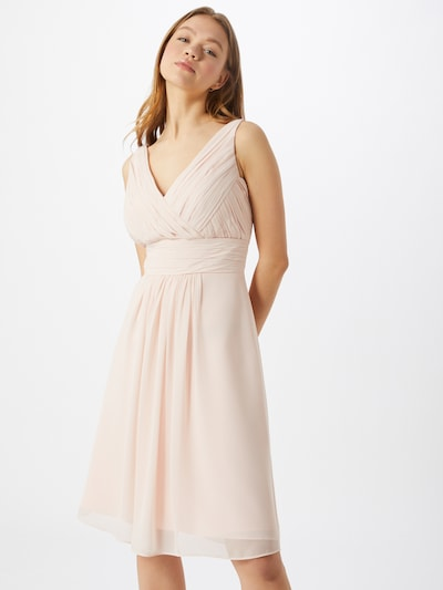 STAR NIGHT Kleid 'short dress chiffon' in pink, Modelansicht