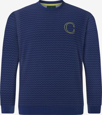 Charles Colby Sweatshirt ' Earl' in blau / lila, Produktansicht
