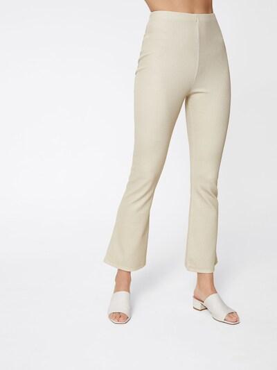 Kelnės 'Lotte' iš LeGer by Lena Gercke , spalva - smėlio, Modelio vaizdas