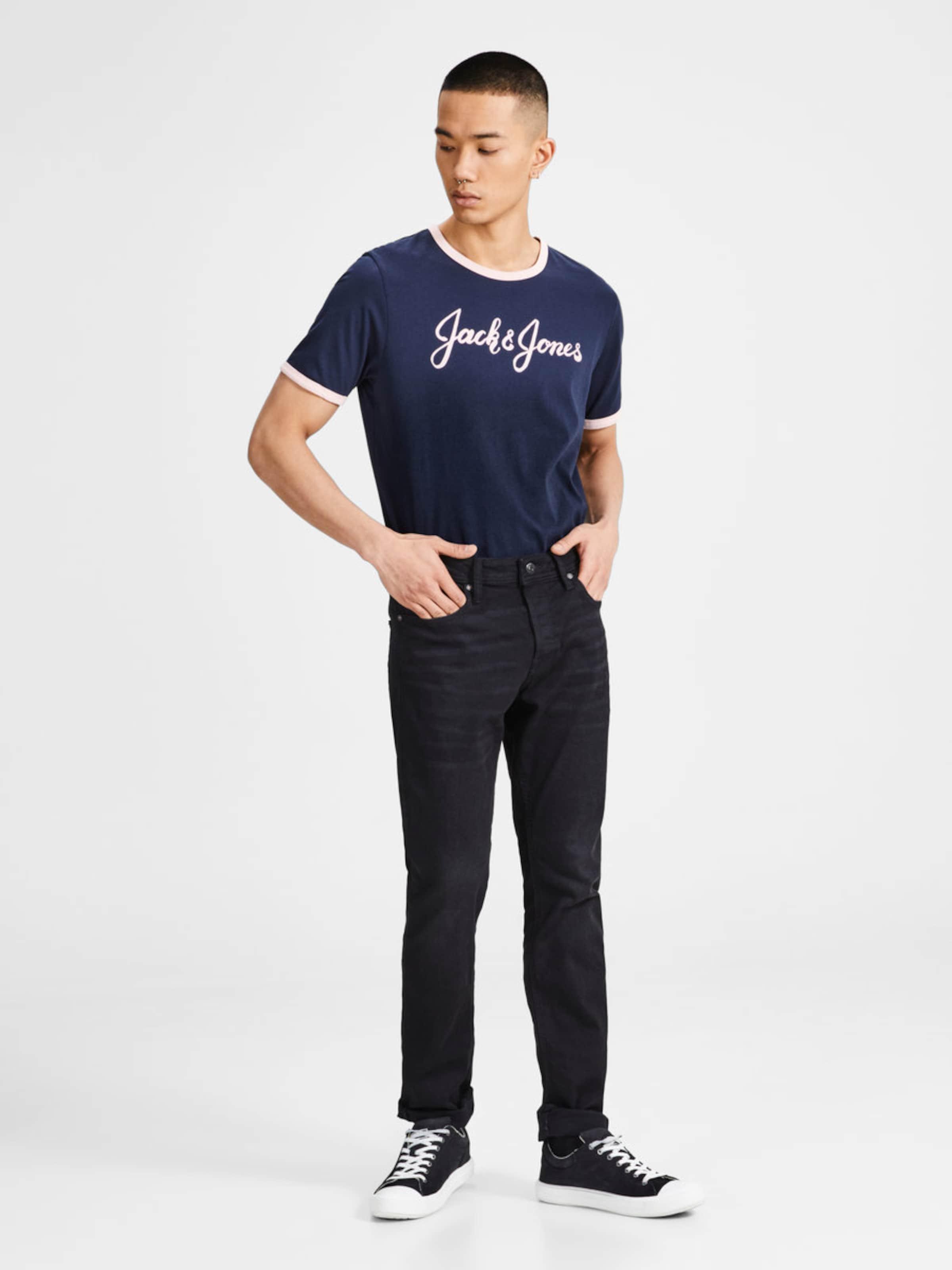 JACK & JONES Print T-Shirt Ansicht Verkauf Online Günstige Rabatte OIDoQ