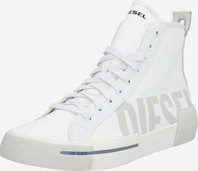 DIESEL Sneakers 'Dese' in hellgrau / schwarz / weiß, Produktansicht