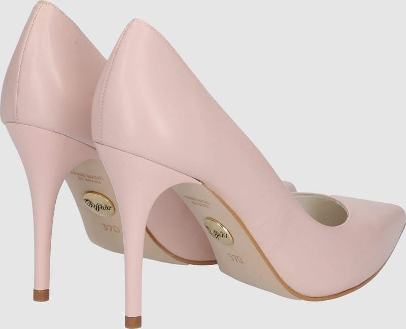 Buffalo Pumps From Smooth Leather