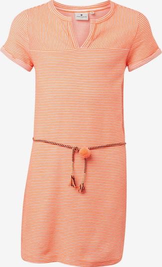 TOM TAILOR Kleid in koralle / weiß, Produktansicht