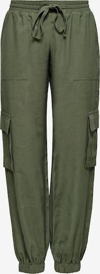 ONLY Kargo hlače | kaki barva, Prikaz izdelka