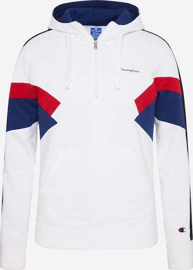 Champion Authentic Athletic Apparel Sweatshirt in de kleur Marine / Rood / Wit, Productweergave