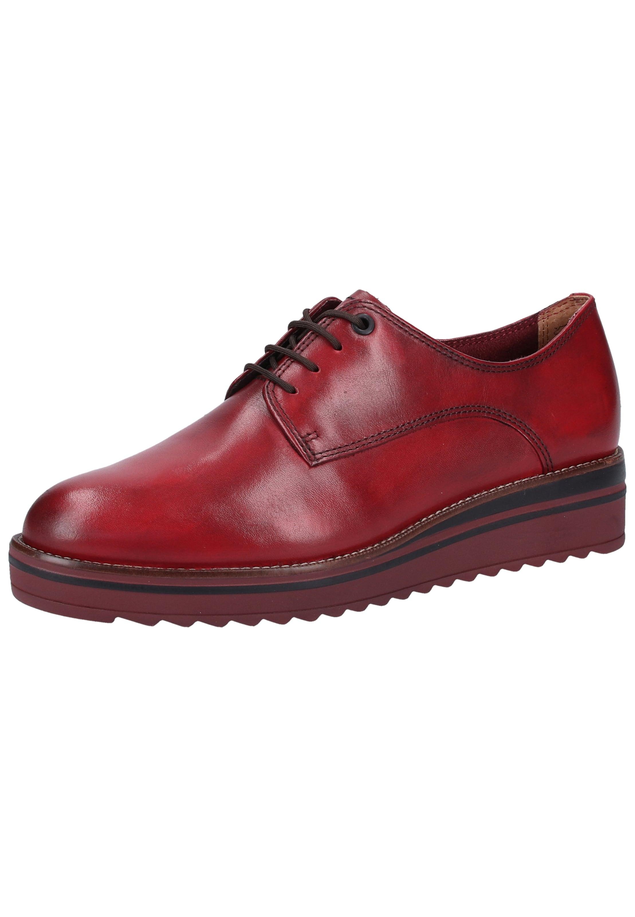 En Lacets Rouge Tamaris Chaussure À rdChstQ