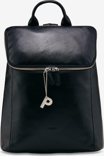 Picard Luis Rucksack Leder 27 cm in schwarz, Produktansicht