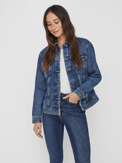 VERO MODA Jeansjacke in blue denim, Modelansicht