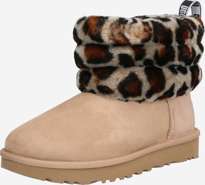 Sniego batai iš UGG , spalva - ruda / šviesiai ruda: Vaizdas iš priekio