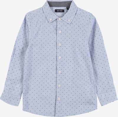 BLUE SEVEN Hemd in hellblau / dunkelblau, Produktansicht