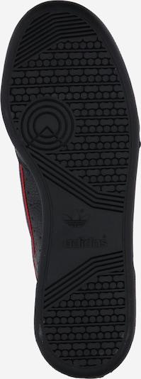 ADIDAS ORIGINALS Continental 80 Sportmode Sneakers Schuhe in rot / schwarz / weiß: Ansicht von unten