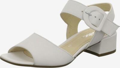 GABOR Sandalen in weiß, Produktansicht