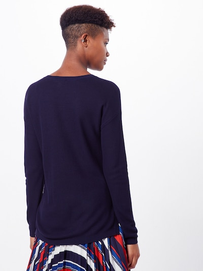 ESPRIT Sweter w kolorze granatowym: Widok od tyłu