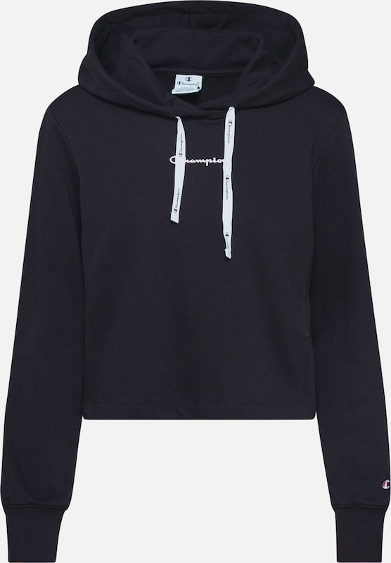 Champion Authentic Athletic Apparel Sweat-shirt en noir, Vue avec produit