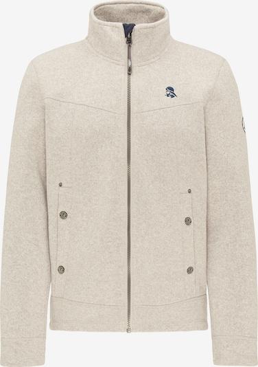 Schmuddelwedda Fleece jas in de kleur Wit, Productweergave