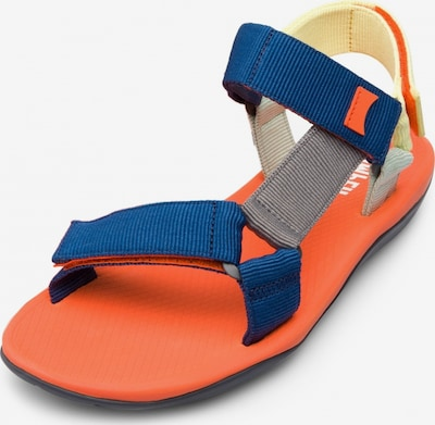 CAMPER Sandales 'Match' en beige / bleu / gris / orange, Vue avec produit