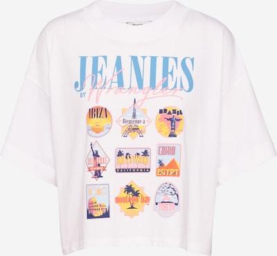 WRANGLER T-shirt '90s' en blanc, Vue avec produit