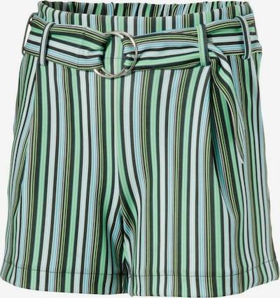 Aniston CASUAL Shorts in grün / weiß, Produktansicht
