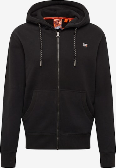 Superdry Sweatjacke 'COLLECTIVE' in schwarz, Produktansicht