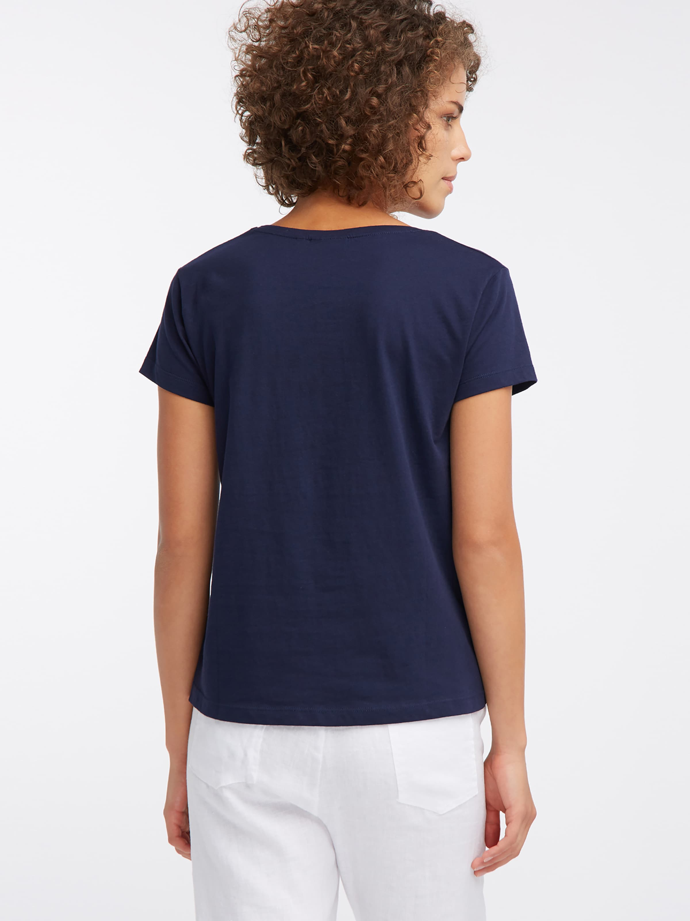 Broadway De Nyc Couleurs T Bleu 'charlize' Fashion MarineMélange En shirt w0OX8nkP