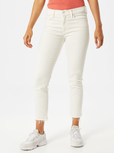 MOTHER Jeans 'The Rascal' in creme, Modelansicht