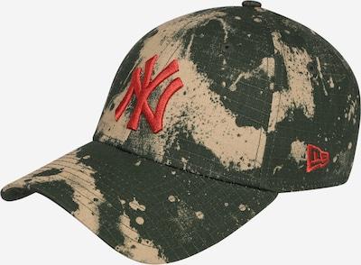 NEW ERA Cap in beige / khaki / dunkelgrün, Produktansicht