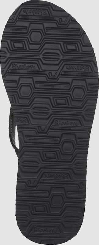 SKECHERS | Zehentrenner Gut 'Meditation Break Water' Schuhe Gut Zehentrenner getragene Schuhe e826a3
