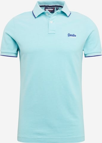 Superdry Shirt 'POOLSIDE' in Blue