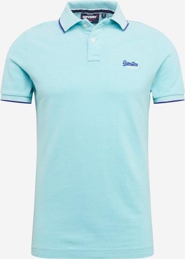 Superdry Shirt 'POOLSIDE' in de kleur Azuur, Productweergave