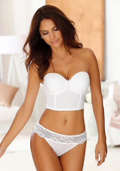 LASCANA Stringi w kolorze białym, Podgląd produktu