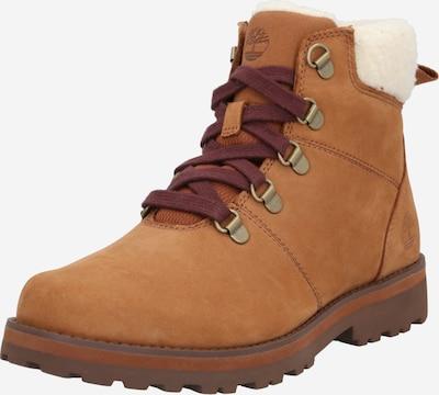 TIMBERLAND Čizme za snijeg 'Courma' u konjak / bijela, Pregled proizvoda