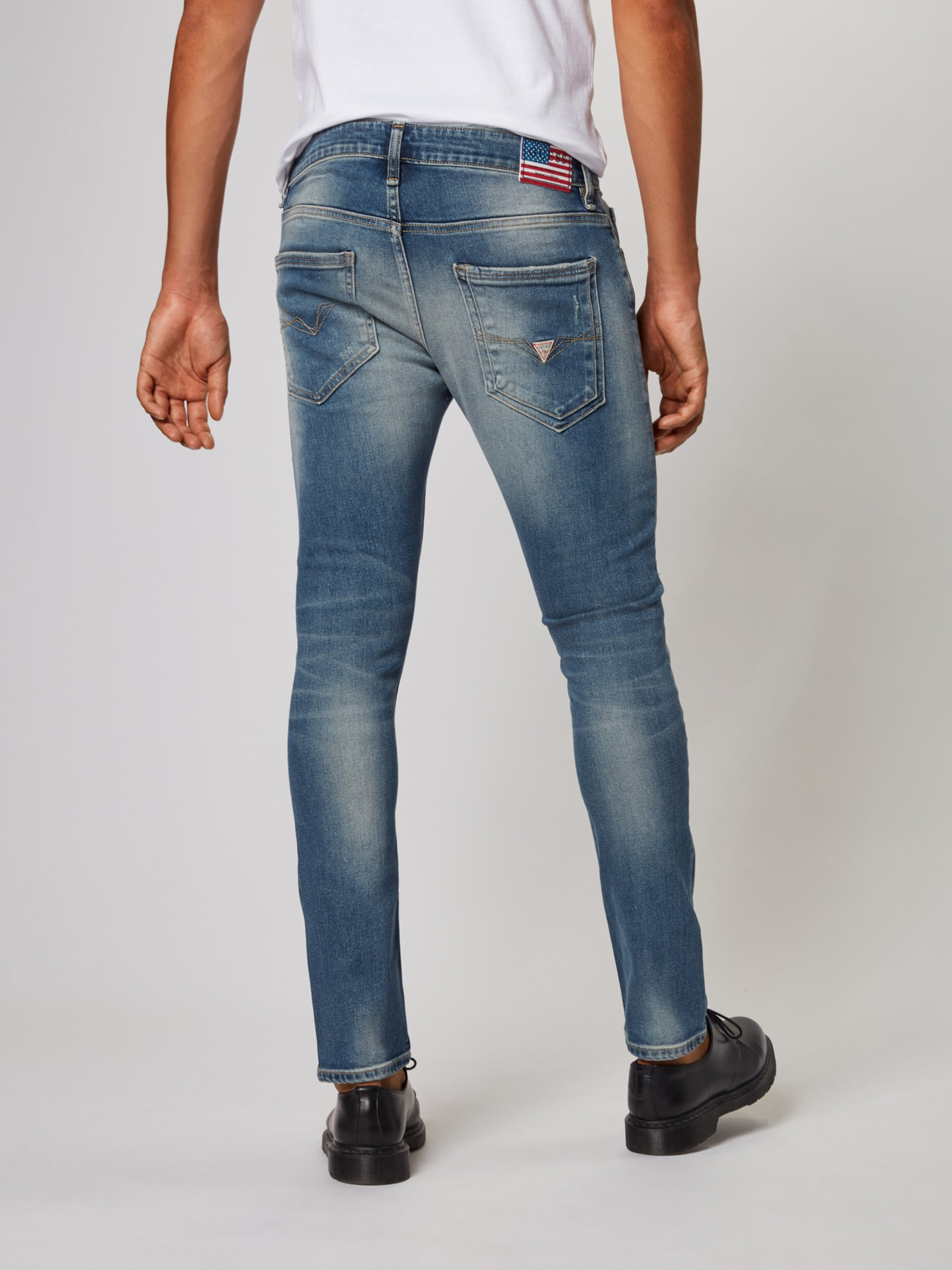 Guess In Blue Jeans 'miami' Denim Yb76Ifgyv
