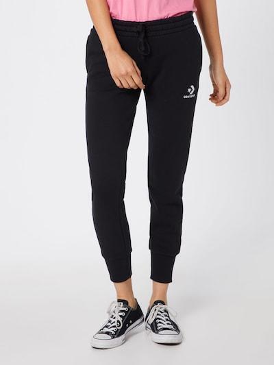 CONVERSE Hose in schwarz / weiß, Modelansicht