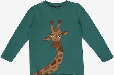 NAME IT Sweatshirt 'Mluro' in braun / petrol, Produktansicht