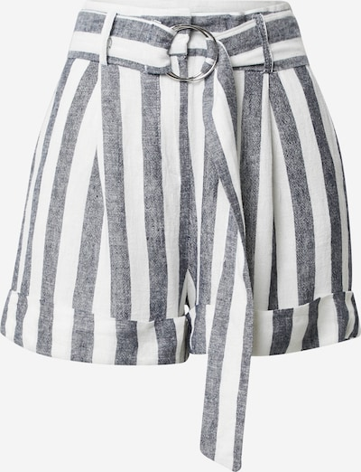 ZABAIONE Pantalon 'Philomena' en bleu-gris / blanc cassé, Vue avec produit