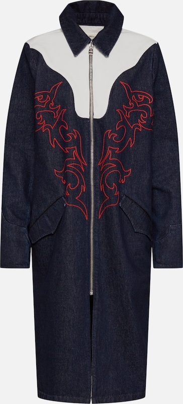 Levi's Made & Crafted Mantel 'LMC Empire Coat' in navy, Produktansicht