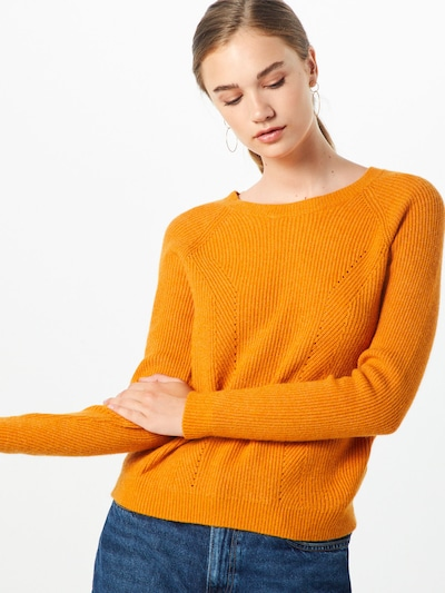 Megztinis iš VILA , spalva - šviesiai oranžinė: Vaizdas iš priekio