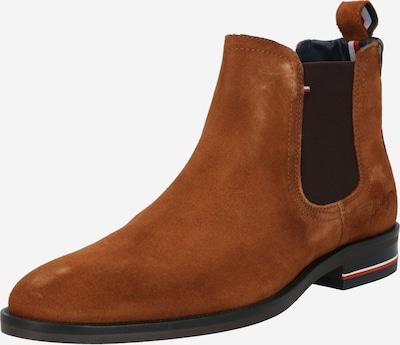TOMMY HILFIGER Chelsea škornji | konjak / temno rjava barva, Prikaz izdelka