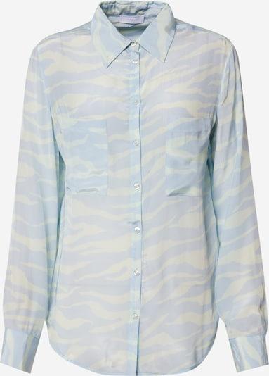 2NDDAY Bluse '2ND Gwen Zebra' in hellblau / naturweiß, Produktansicht
