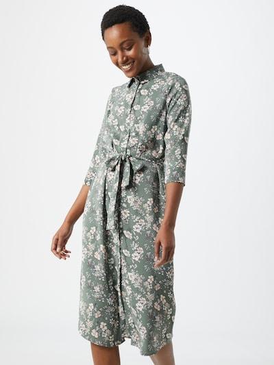 VERO MODA Blousejurk 'Diana' in de kleur Azuur / Pastelgroen / Pastelroze, Modelweergave
