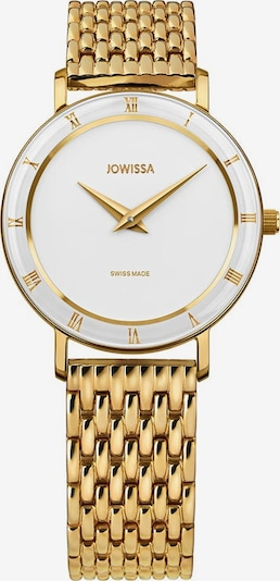 JOWISSA Analoog horloge 'Roma' in de kleur Goud / Wit, Productweergave