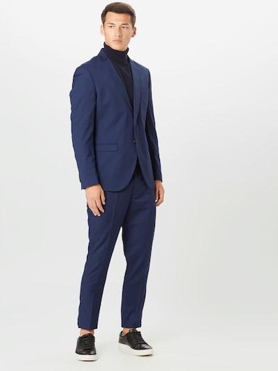 JACK & JONES Obleka 'FRANCO' | temno modra barva: Frontalni pogled