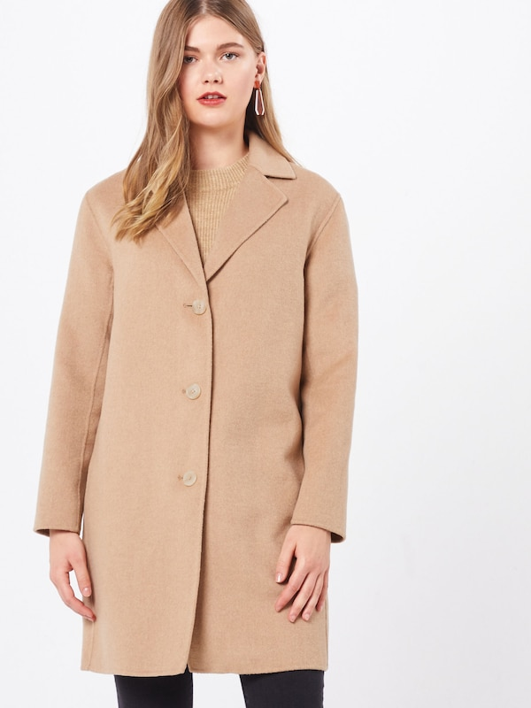 GAP Mantel 'OC WOOL DF COAT' in camel, Modelansicht