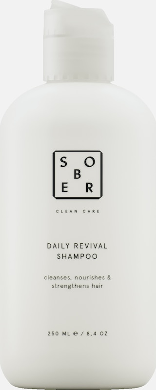 sober Shampoo 'Daily Revival' in weiß, Produktansicht
