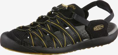 KEEN Kuta Sandalen Herren in gelb / schwarz, Produktansicht