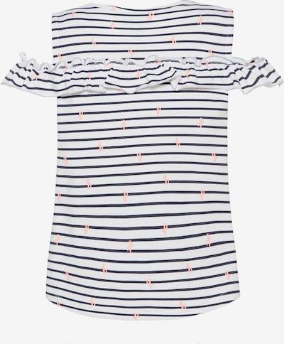 NAME IT Shirt in nachtblau / koralle / weiß, Produktansicht