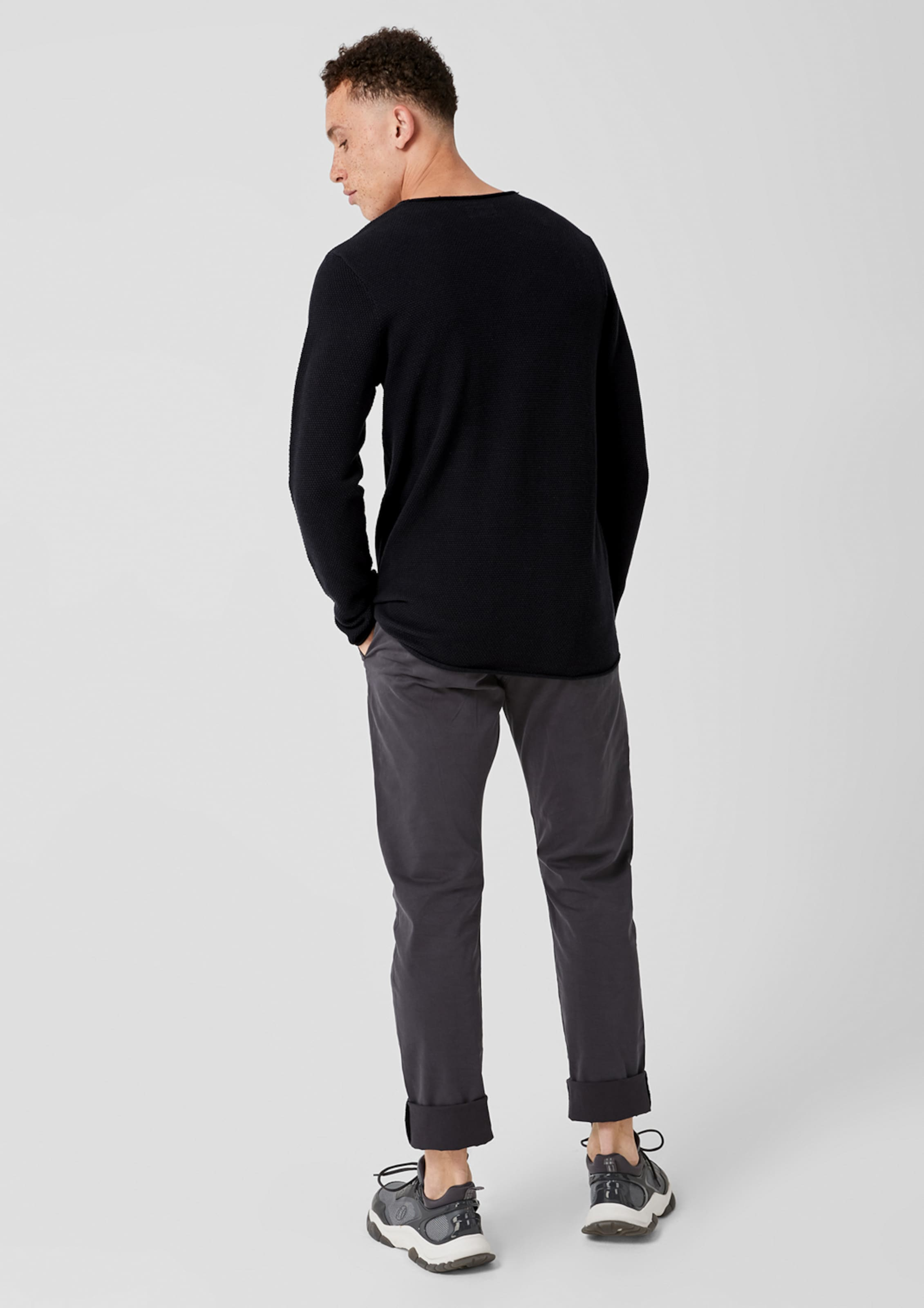 Q s Pullover Designed Schwarz By In gy7vYbf6