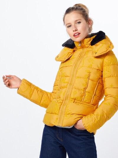 Desigual Veste d'hiver 'PADDED_SUNNA' en jaune: Vue de face