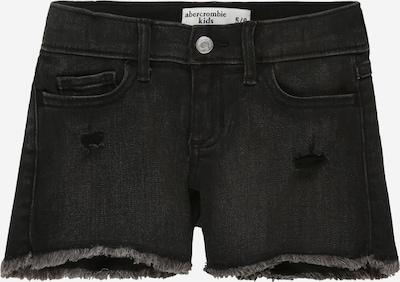 Abercrombie & Fitch Shorts 'KI249-2015' in black denim, Produktansicht