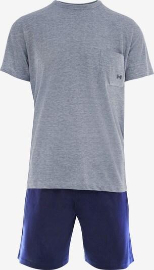 HOM Pyjama Set 'Comfort' in blau, Produktansicht